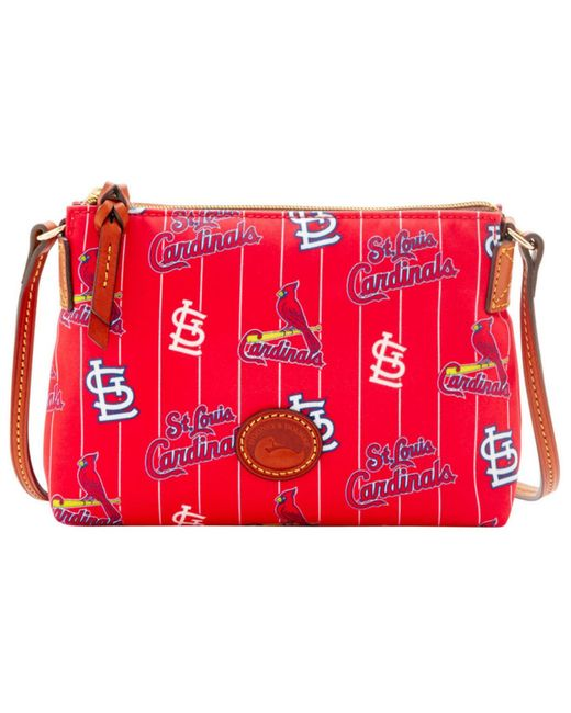 Dooney & Bourke | Red St. Louis Cardinals Nylon Crossbody Pouchette | Lyst