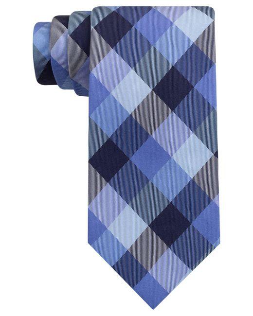 Tommy Hilfiger | Blue Buffalo Tartan Tie for Men | Lyst