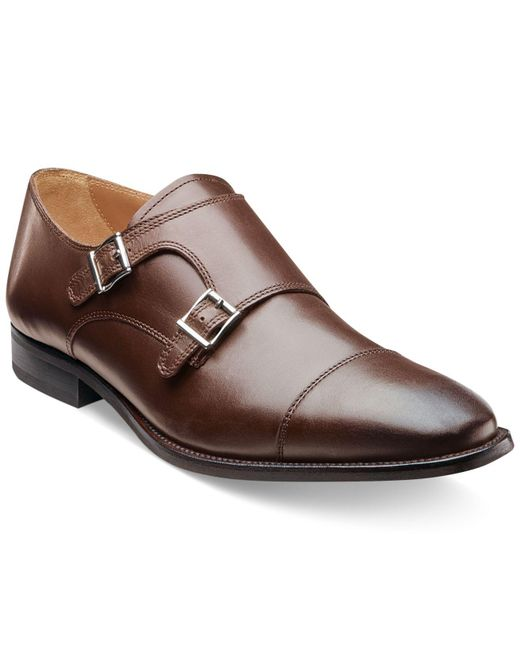 Florsheim - Brown Sebato Double Monk Strap Shoes for Men - Lyst