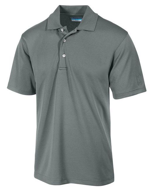 PGA TOUR - Black Airflux Solid Golf Polo for Men - Lyst