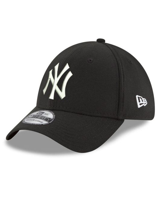super popular ca818 f67df KTZ - Black New York Yankees Dub Classic 39thirty Cap for Men - Lyst ...