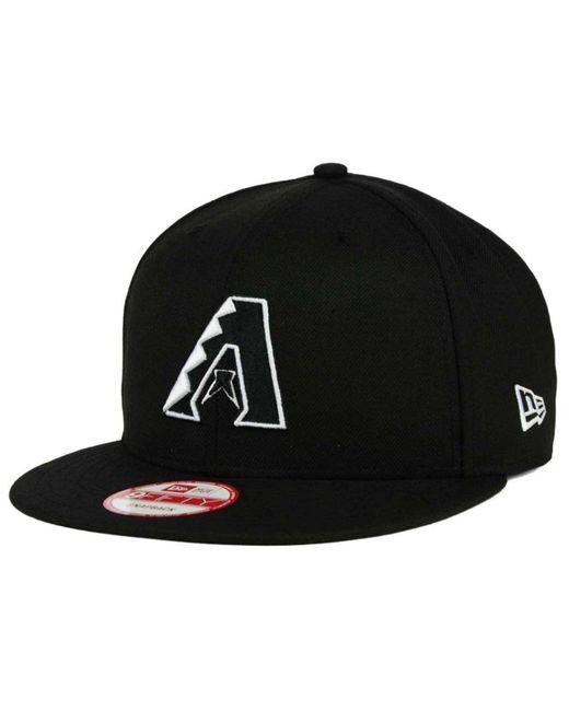 KTZ - Black Arizona Diamondbacks B-dub 9fifty Snapback Cap for Men - Lyst