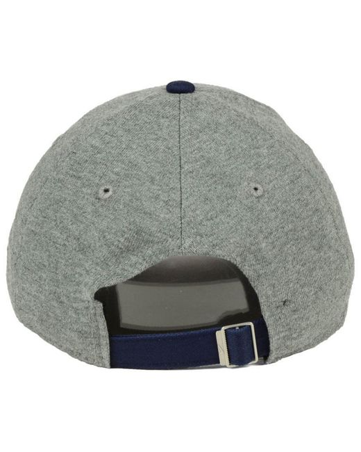 newest 67f97 8f2f6 ... store nike gray cleveland indians 2 tone heather cap for men lyst 558eb  a757e