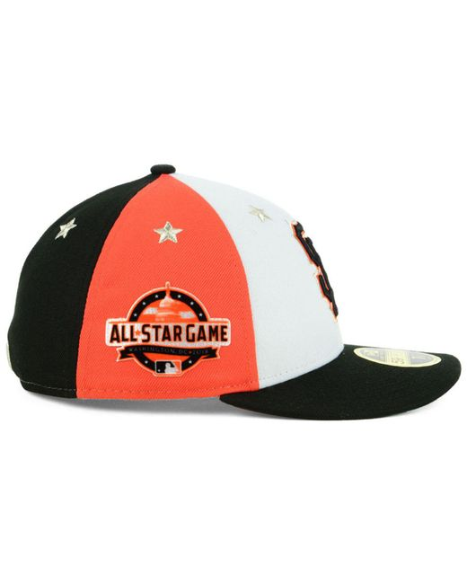 separation shoes 1086d f429c ... KTZ - Multicolor San Francisco Giants All Star Game Patch Low Profile  59fifty Fitted Cap 2018 ...