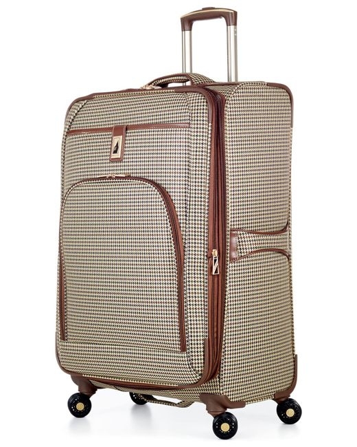 "London Fog | Green Cambridge 25"" Spinner Suitcase for Men 