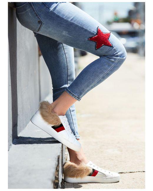 493c7df3fd6 Lyst - Steve Madden Belle Platform Sneaker in White - Save 81%