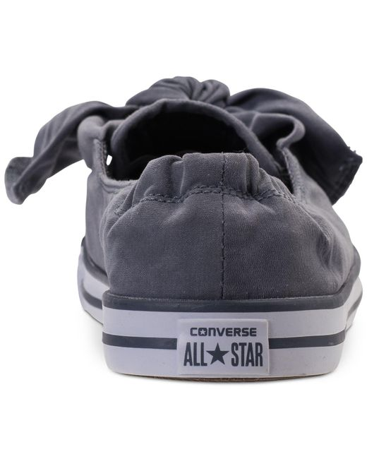 converse peached canvas knot