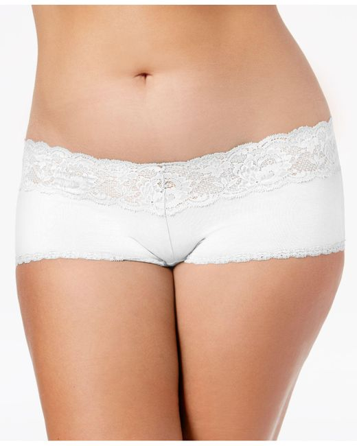 Cosabella - White Never Say Never Hottie Cheeky Hot Pants Never0741p - Lyst