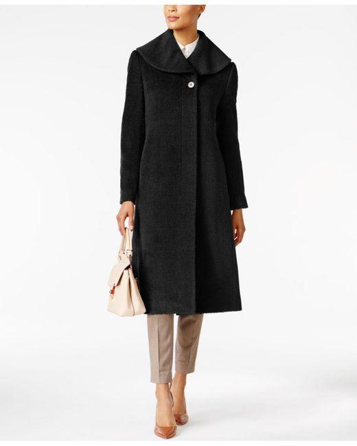 Jones New York   Black Flyaway Maxi Coat   Lyst