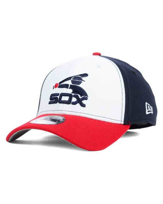 timeless design fa84b 5434e KTZ - Blue Chicago White Sox Core Classic 39thirty Cap for Men - Lyst ...