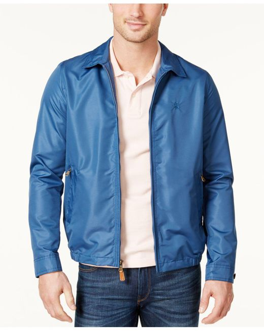 Izod | Blue Men's Lightweight Golf Jacket for Men | Lyst