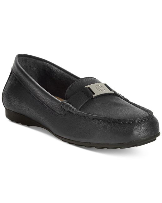 Giani Bernini - Black Dailyn Slide-on Loafers - Lyst