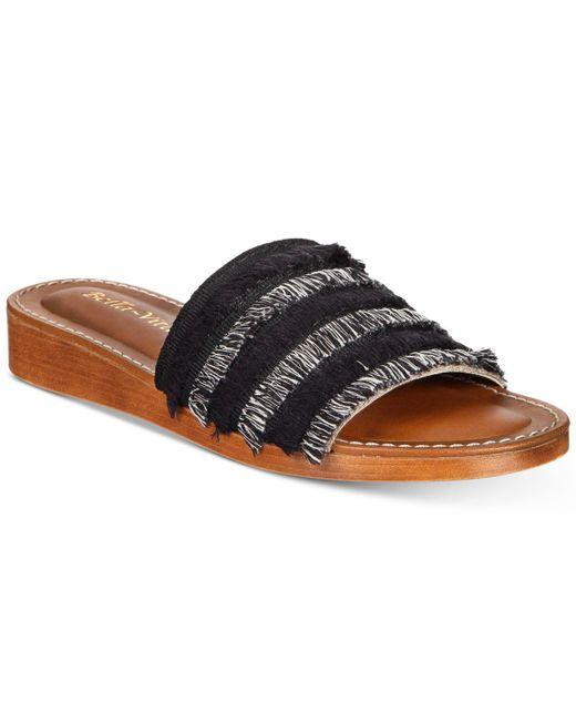 Bella Vita - Black Abi-italy Sandals - Lyst