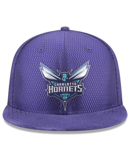 412115952 ... KTZ - Purple On Court Reverse 9fifty Snapback Cap for Men - Lyst ...