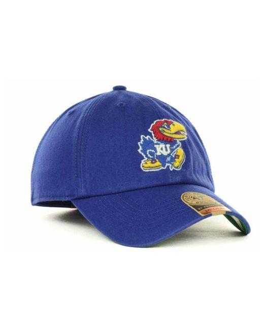 0312096f370b0 ... 47 Brand - Blue Kansas Jayhawks Franchise Cap for Men - Lyst