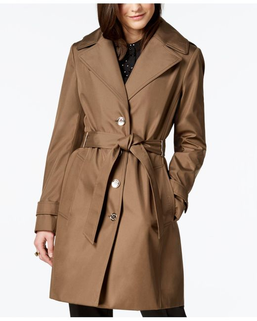 CALVIN KLEIN 205W39NYC - Multicolor Belted Waterproof Trench Coat - Lyst