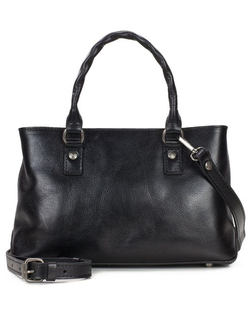 Patricia Nash | Black Heritage Angela Double-compartment Small Satchel | Lyst