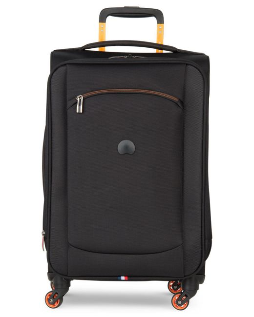 "Delsey - Black Hyperlite 2.0 20"" Carry-on Expandable Spinner Suitcase - Lyst"