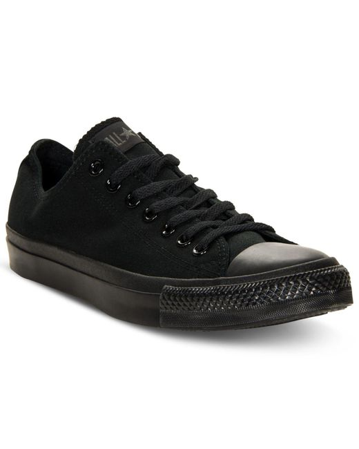 7bf52b00a758cc Lyst - Converse Chuck Taylor All Star Core Ox in Black for Men ...