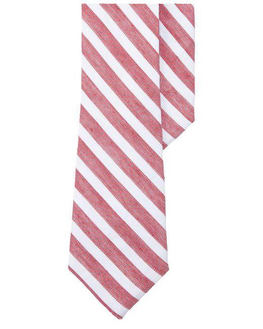 Lauren by Ralph Lauren   Men's Seasonal Red Stripe Tie for Men   Lyst