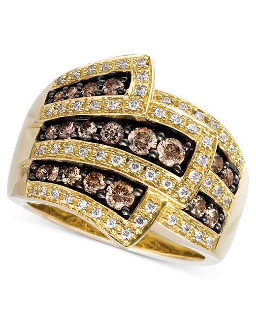 Le Vian | Metallic Chocolate Diamonds® Wrap Ring (1 Ct. T.w.) In 14k Gold | Lyst