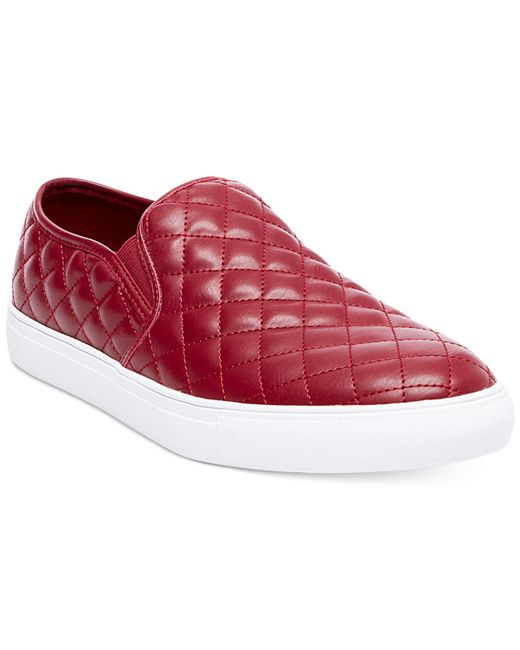 Steve Madden | Red Men's Element Slip-on Sneakers for Men | Lyst