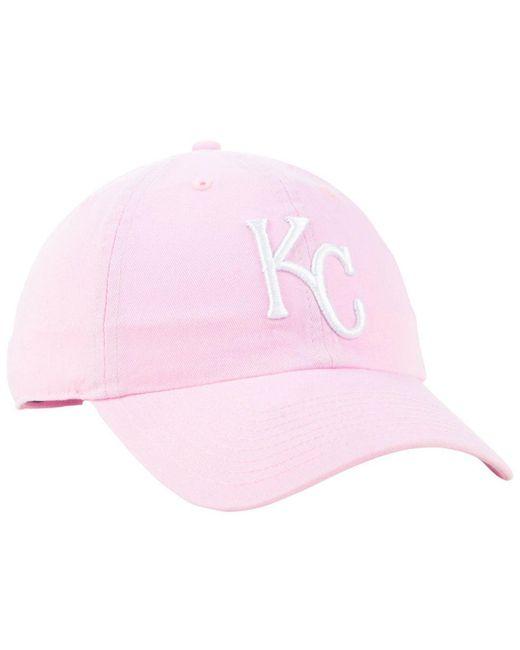 timeless design 76d67 798de ... order 47 brand kansas city royals pink clean up cap lyst 957f6 53191