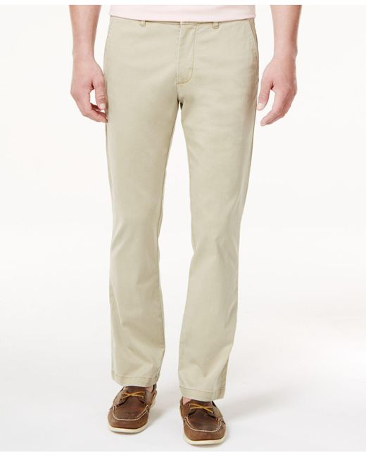 Tommy Bahama | Natural Men's Boracay Flat Front Stretch Pants for Men | Lyst