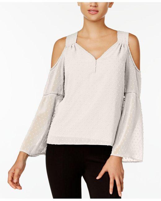 Kensie | Multicolor Cold-shoulder Top | Lyst