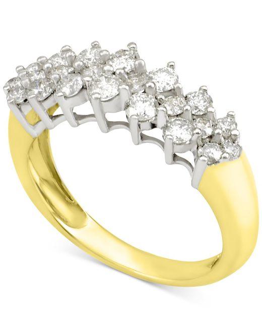 Macy's | Metallic Diamond Band (1 Ct. T..w) In 14k White Gold Or 14k Gold | Lyst