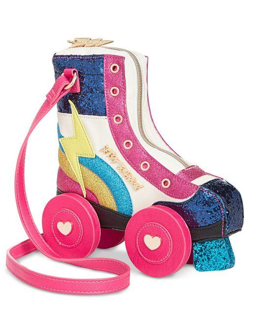 Betsey Johnson   Multicolor Roller Girl Small Crossbody   Lyst