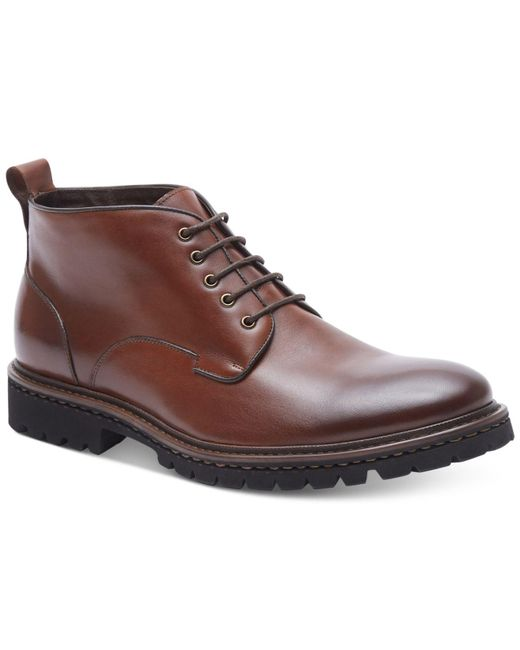 Kenneth Cole Reaction | Brown Men's Design 20535 Boots for Men | Lyst