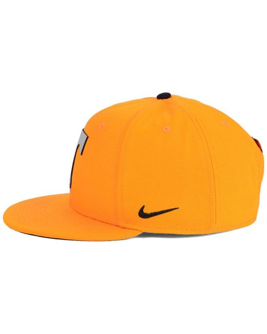 new style e0971 53503 ... sweden nike orange tennessee volunteers true reflective snapback cap  for men lyst fe316 9558f