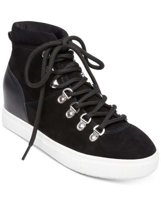 c5880626498e0 Lyst - Steven by Steve Madden Kalea Sneaker in Black - Save 80%