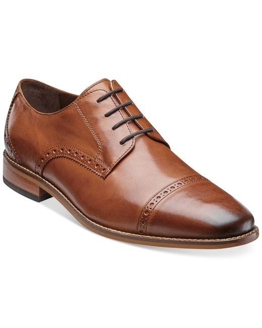 Florsheim - Brown Castellano Cap-toe Oxfords for Men - Lyst