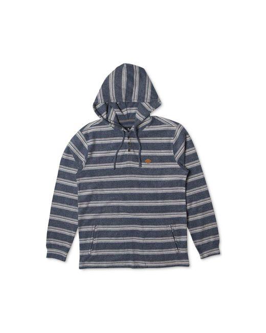 Rip Curl | Blue Men's Estero Hooded Sweatshirt for Men | Lyst