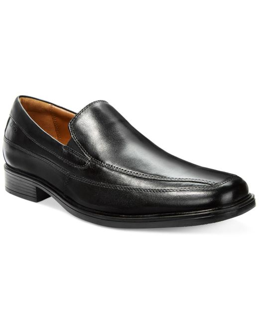 Clarks - Black Tilden Free Loafers for Men - Lyst