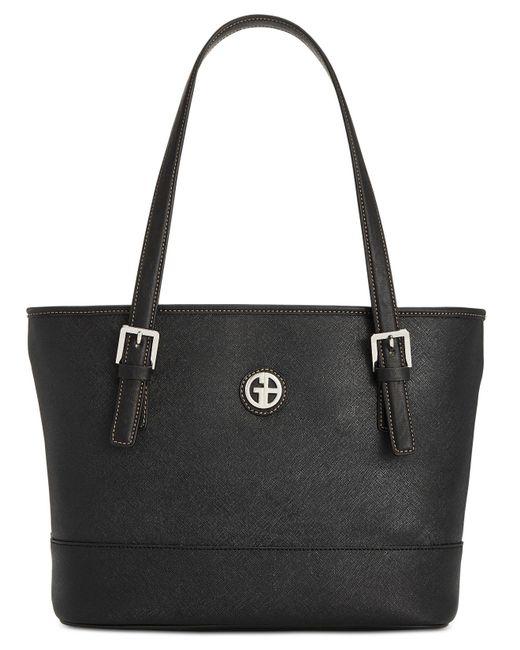 Giani Bernini - Black Saffiano Tote, Created For Macy's - Lyst