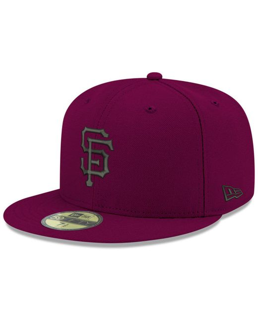 f9ed1aadd4d ... low profile 59fifty cap 33419 0c697  discount code for ktz purple san  francisco giants reverse c dub 59fifty fitted cap for men