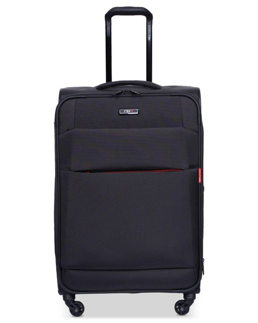 "Revo | Multicolor Airborne 20"" Softside Spinner Suitcase 