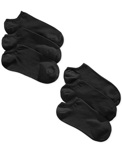 Hue | White Women's 6-pk. Cotton No Show Socks | Lyst