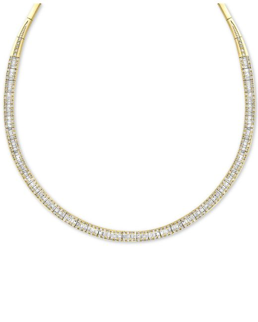 Effy Collection - Metallic Diamond Necklace (4-1/6 Ct. T.w.) In 14k White Gold - Lyst