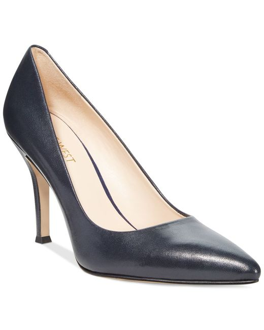 Nine West   Blue Flax Pointed Toe Pumps   Lyst