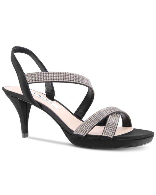 0a04e46958a Lyst - Nina Nizana Evening Sandals in Black - Save 63%