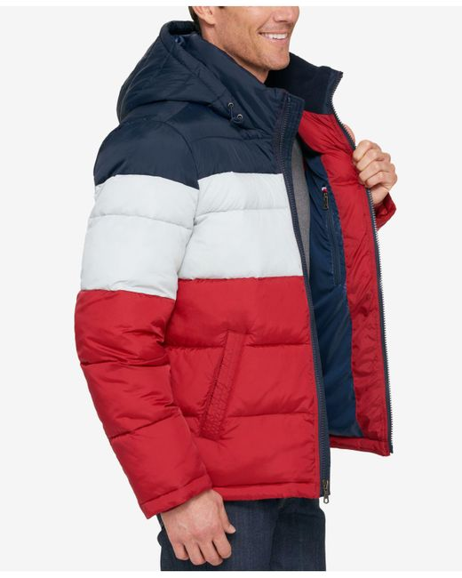 Tommy Hilfiger Men S Classic Hooded Puffer Jacket For Men