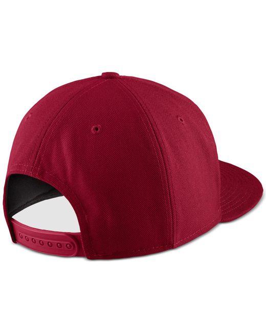 412fd55e9ad ... Nike - Red Sportswear Air Dri-fit Hat for Men - Lyst