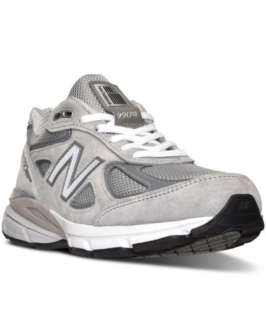 New Balance - Gray Women's W990gl4 Running Sneakers From Finish Line - Lyst
