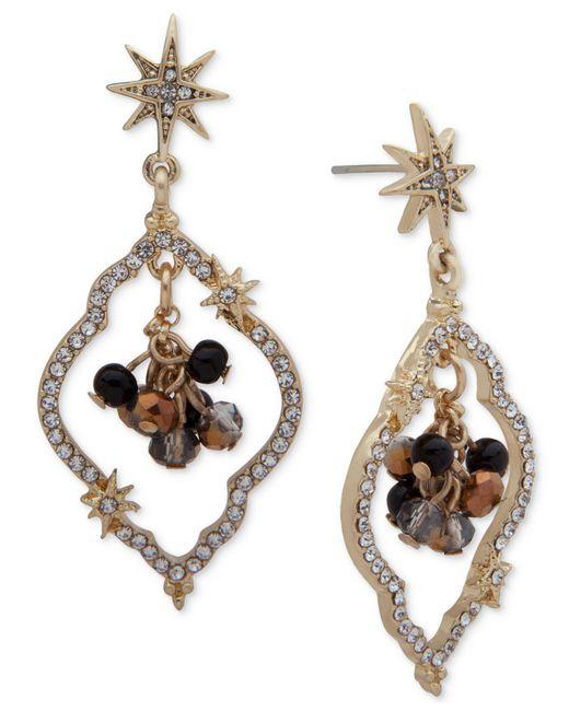 Lonna & Lilly | Metallic Gold-tone Pavé Shaky Orbital Drop Earrings | Lyst