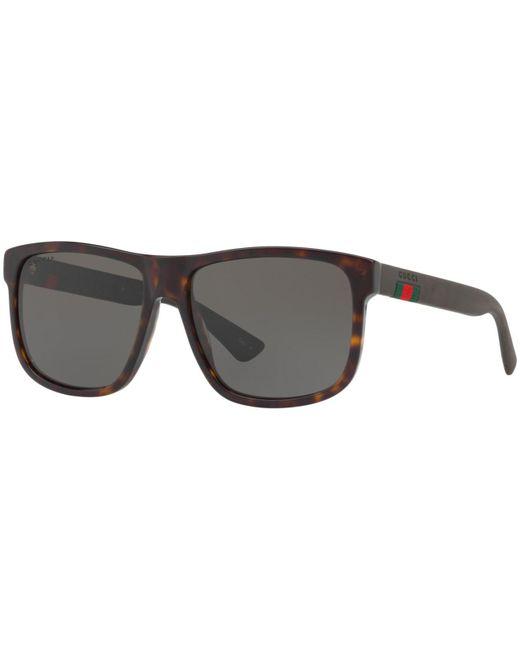 7ba4f9d9d1 Lyst - Gucci Polarized Sunglasses