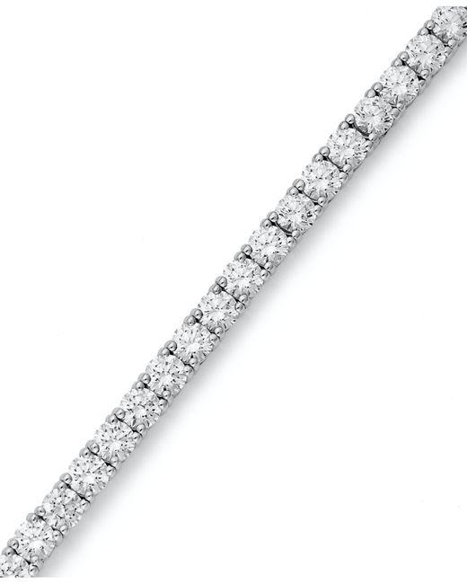 Arabella | Metallic Sterling Silver Bracelet, Swarovski Zirconia Tennis Bracelet (20-1/4 Ct. T.w.) | Lyst